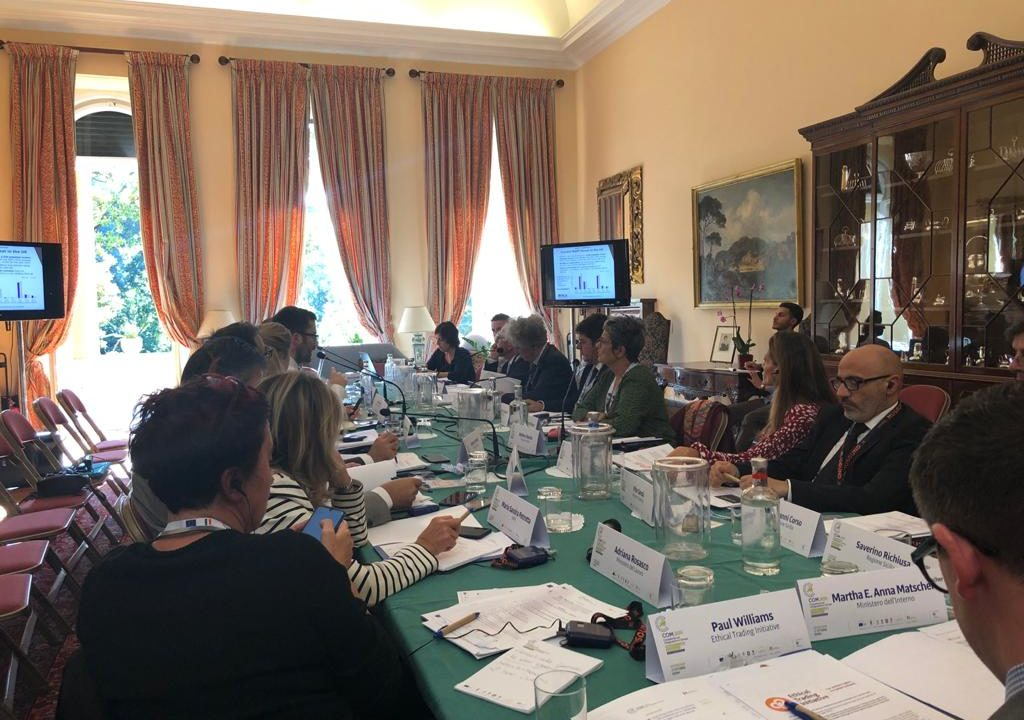 Scambio di buone pratiche nella Residenza dell'Ambasciatore del Regno Unito in Italia