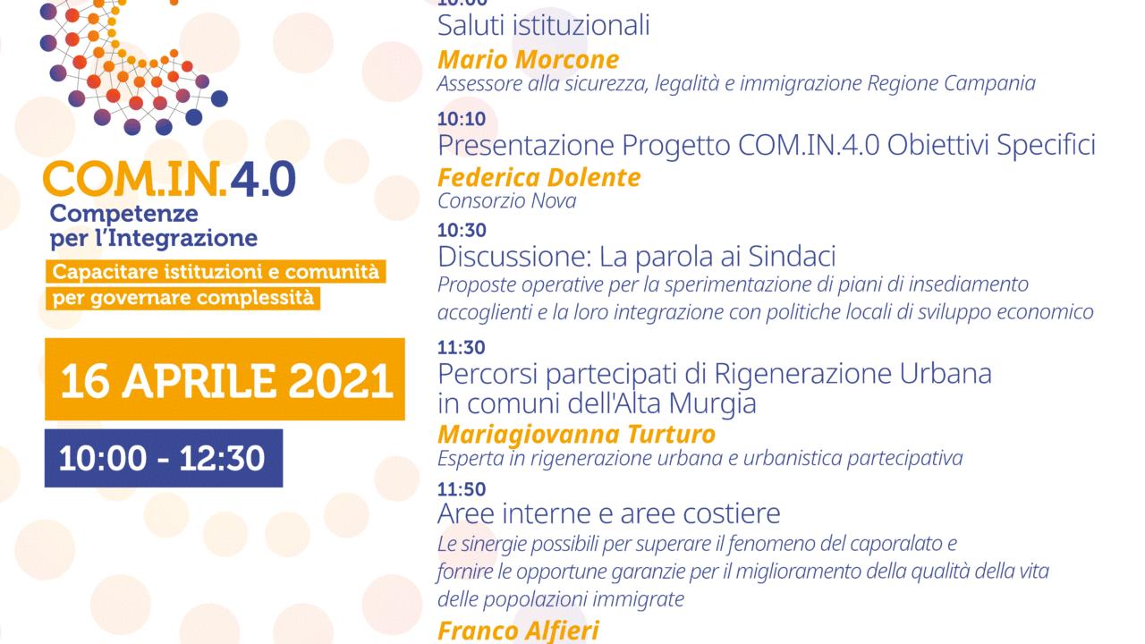 Campania, presentato il progetto Com.In.4.0